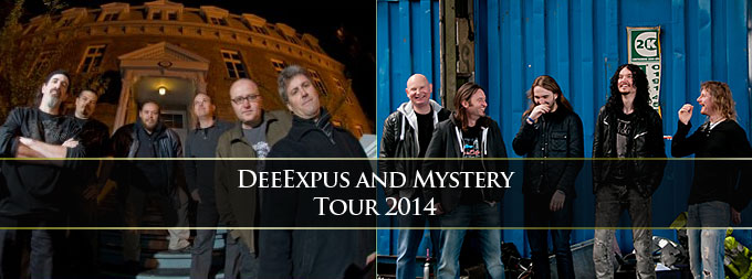 DeeExpus and Mystery tour 2014