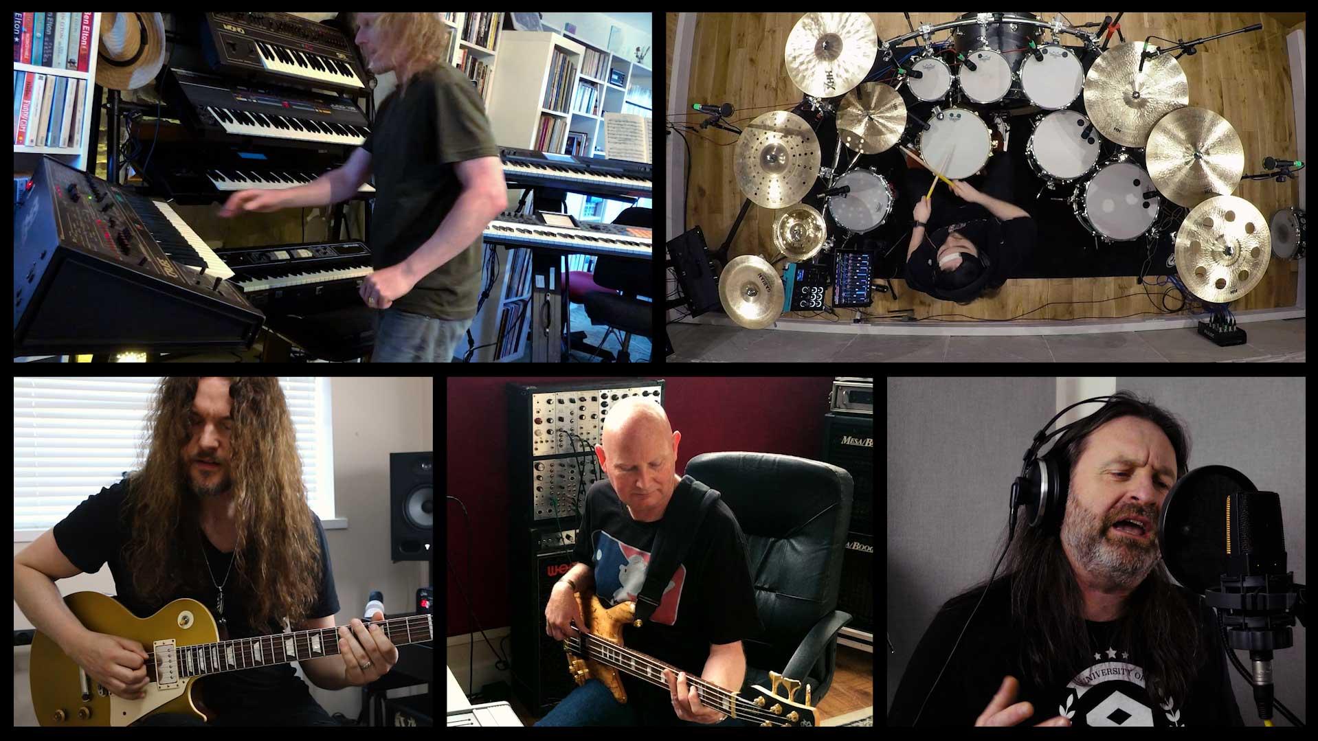Members of DeeExpus recording Bridges